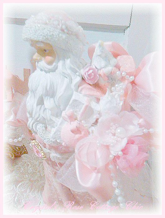 Sweet Pink Santa