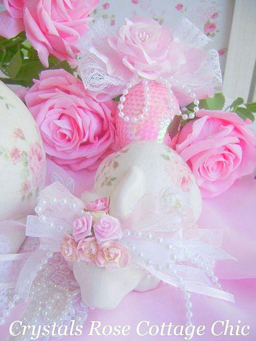 Shabby Roses Bunny Love 1