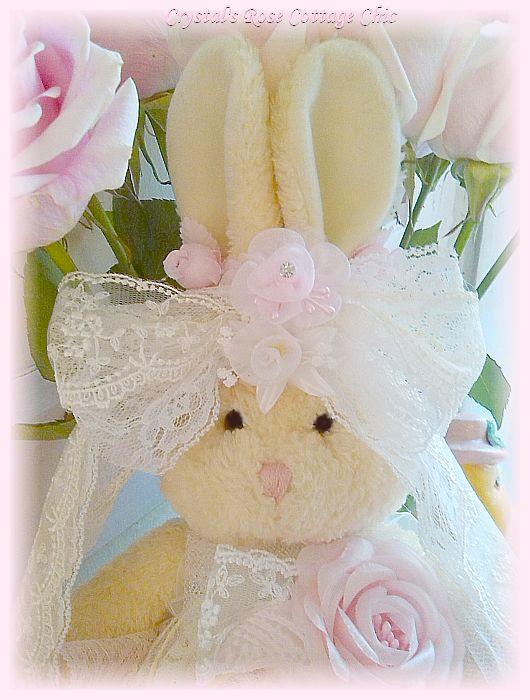 Shabby Bunny Love
