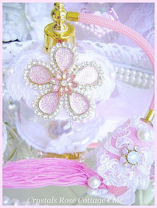 Luxury Pink Romantic Perfume Atomizer