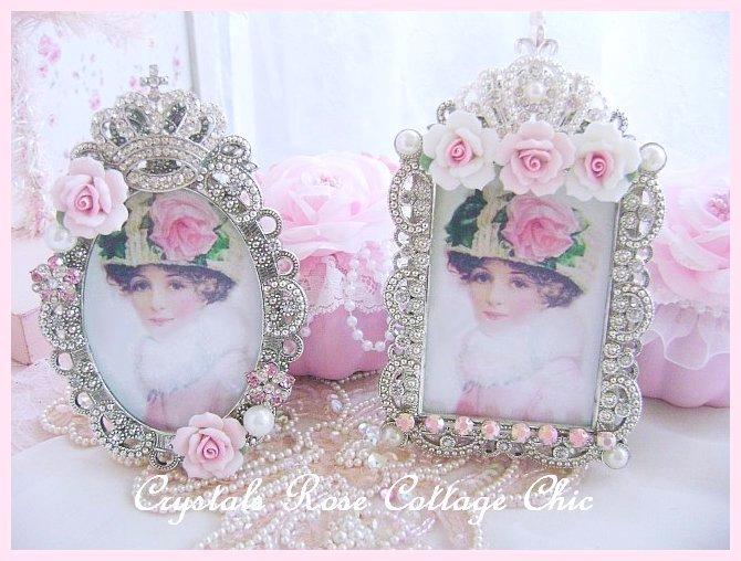 Shabby Rose Victorian Frame