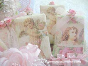 Vintage Cherub Decorative Soap